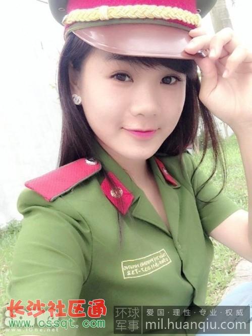 越南中也有不少女性士兵