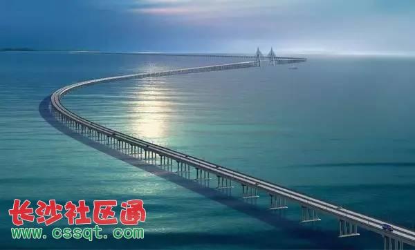 港珠澳大桥主体工程海底隧道贯通