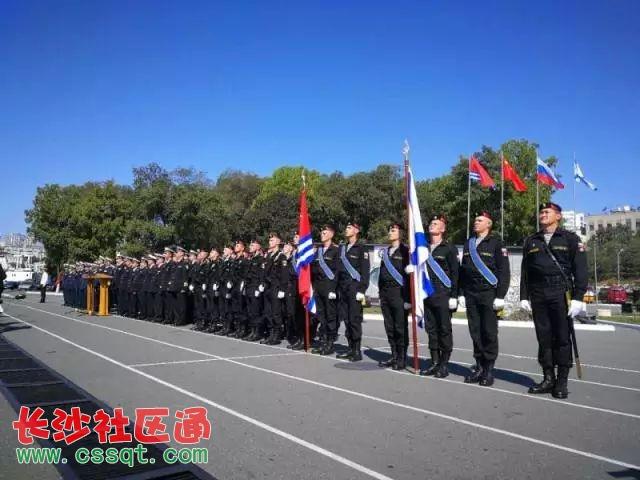 中俄&quot海上联合—2017&quot第二阶段演习兵力集结完毕演习