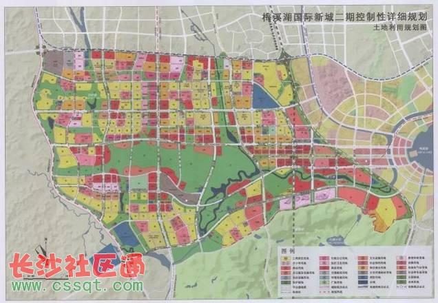 长沙规划城市副中心的区域出炉