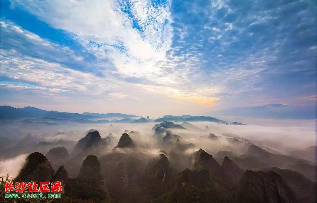 南靠广西桂林风景区 北与张家界风景区呼应 坐标:娄底 紫鹊界梯田