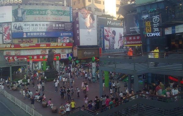 长沙市街景