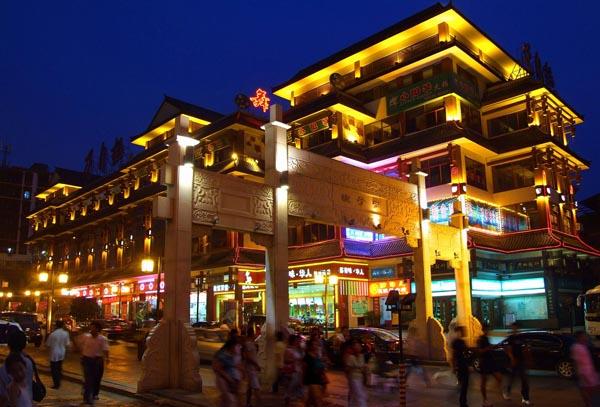 长沙市夜景