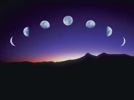 015年7月的月亮圆缺情况查询 月亮圆缺