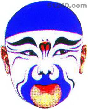 中国脸谱网,脸谱知识,脸谱图片大全返回京剧脸谱